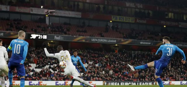 Dismal Arsenal limp through in Europa League after Ostersund deliver scare